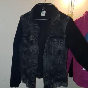 A Black denim H&M Jean Jacket